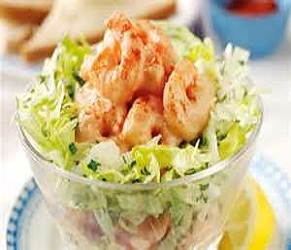 Tiger Prawn & Apple Salad
