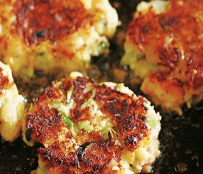 S is for Smoked Salmon Fishcakes
