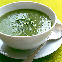 Spinach and Coriander Soup