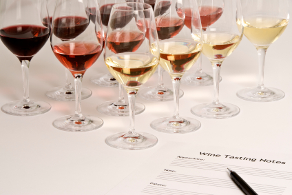 wine writing or competitions