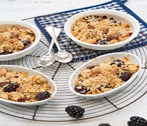 Blackberry & Apple Crisp