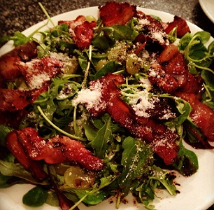 Pancetta & Grape Salad