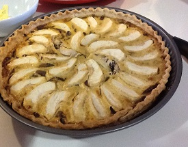 Onion and Apple Tart