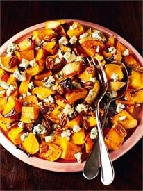 Butternut Squash,Potato, Pecan and Blue Cheese Salad