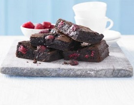 Chocolate & Raspberry Brownies